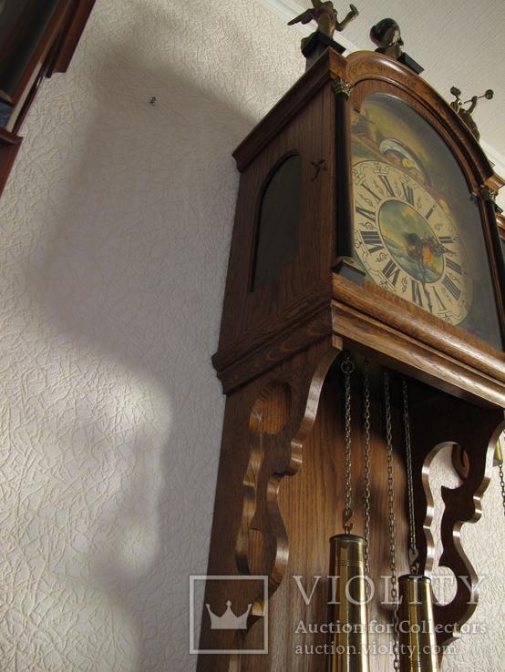 Большие настенные часы Голландия 1,5 метра, фото №8