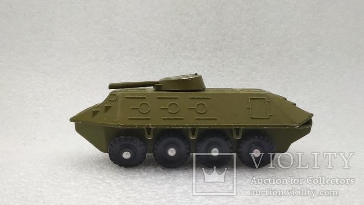 Бронетраспортер Амфибия военная техника игрушка СССР, фото №3