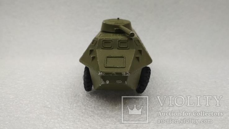 Бронетраспортер Амфибия военная техника игрушка СССР, фото №4