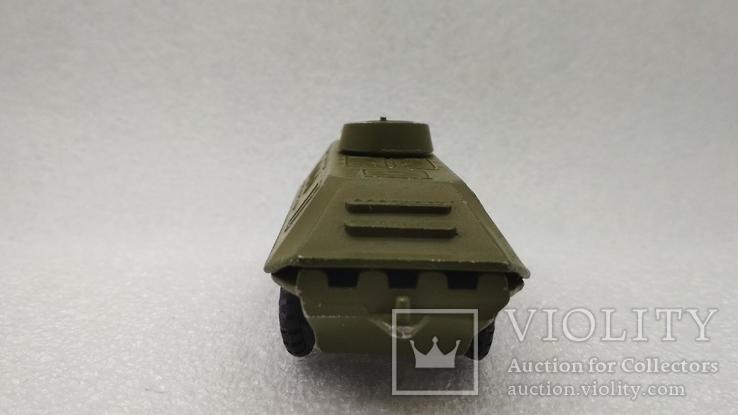 Бронетраспортер Амфибия военная техника игрушка СССР, фото №5