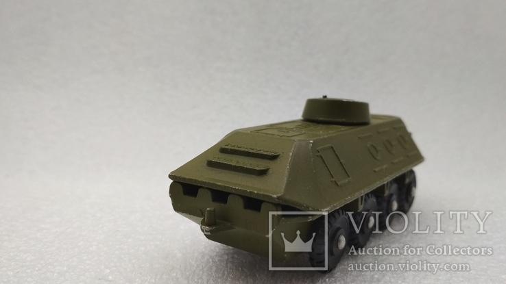 Бронетраспортер Амфибия военная техника игрушка СССР, фото №6
