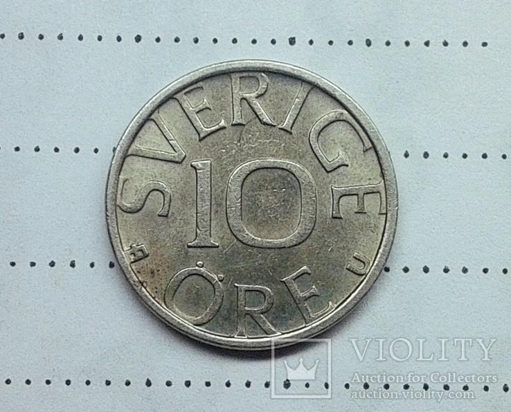 Швеция 10 эре 1978, фото №3