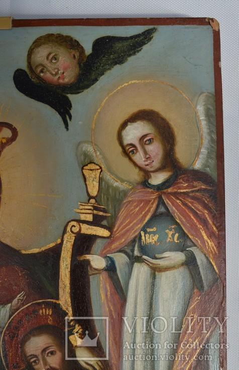 Печерская икона Божией Матери с предстоящими Антонием и Феодосием, photo number 6