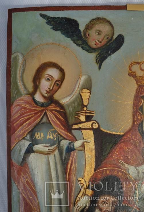 Печерская икона Божией Матери с предстоящими Антонием и Феодосием, photo number 7