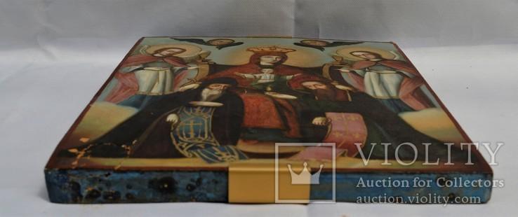 Печерская икона Божией Матери с предстоящими Антонием и Феодосием, photo number 12
