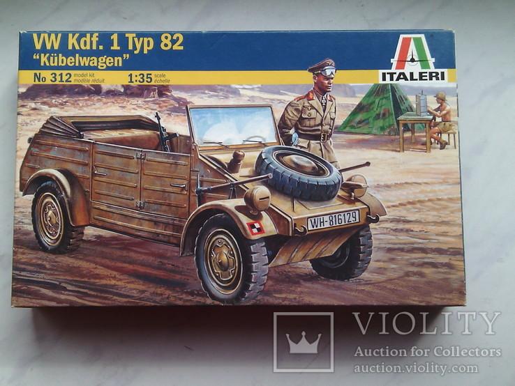 Kubellwagen tipe 81 от ,,ITALERY,, м. 1.35 - 250 грн., фото №2