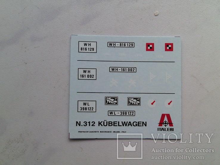 Kubellwagen tipe 81 от ,,ITALERY,, м. 1.35 - 250 грн., фото №6