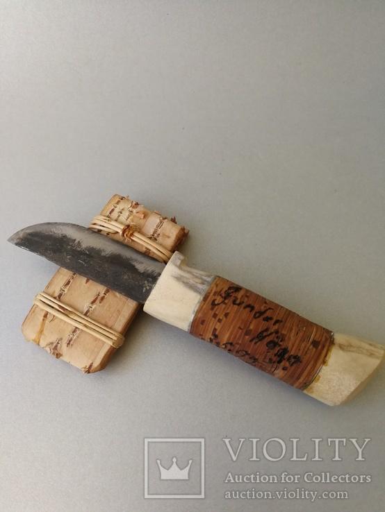 Нож ручной работы. Швеция., фото №10