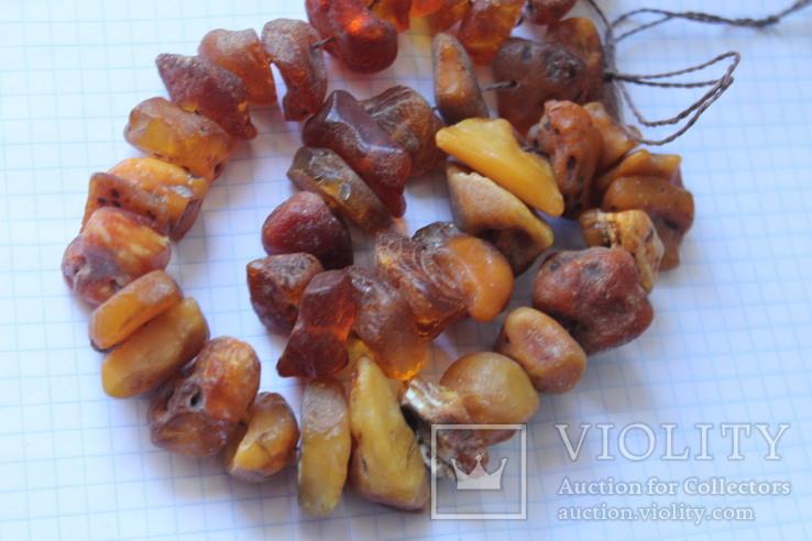 Бусы Янтарь - 92 грамм, фото №6