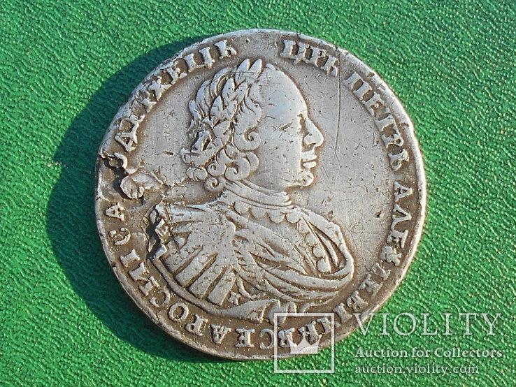 Рубль Петра, 1721, фото №2