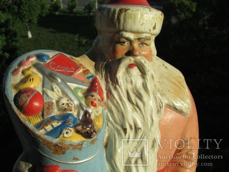 Большой /// Дед Мороз./// СССР.. Могилёвская ф-ка детских игрушек.1961г.