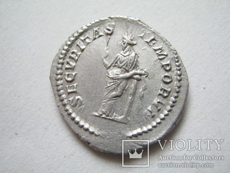 Денарий Макрин (217-218)., фото №10