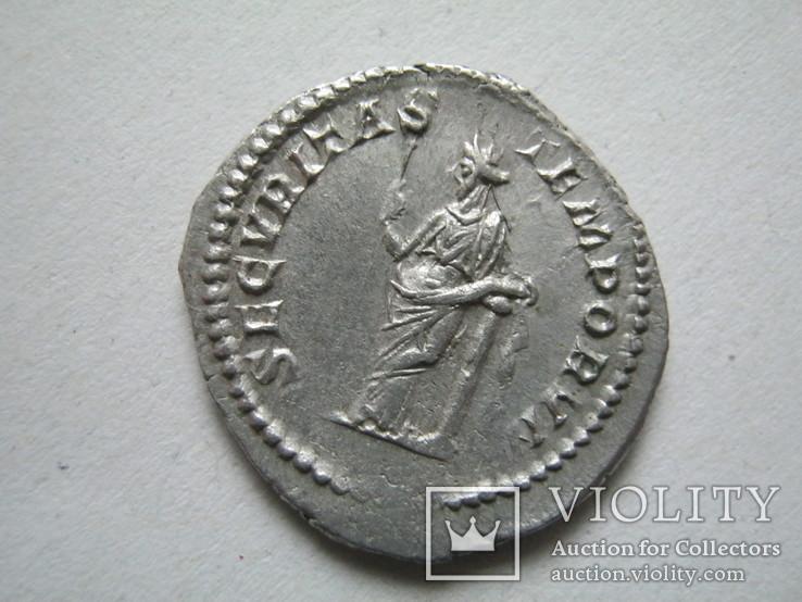 Денарий Макрин (217-218)., фото №11