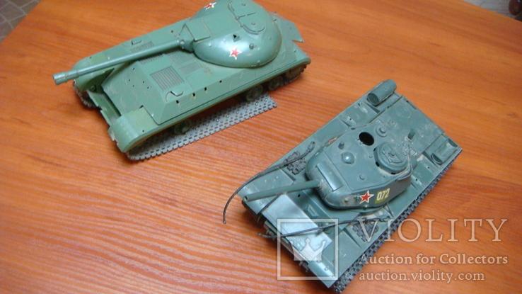 Танк СССР, сборная модель, 2 шт, фото №2