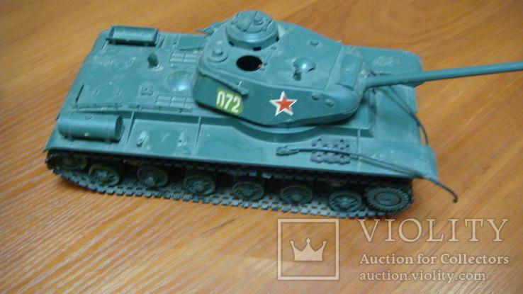 Танк СССР, сборная модель, 2 шт, фото №4