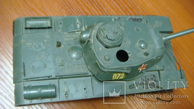 Танк СССР, сборная модель, 2 шт, фото №7