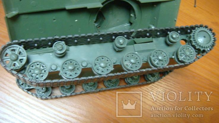 Танк СССР, сборная модель, 2 шт, фото №8