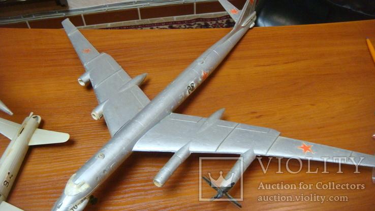 Самолеты СССР, сборная модель, 8 шт, Ту-144, Як-40, Як-24, фото №5