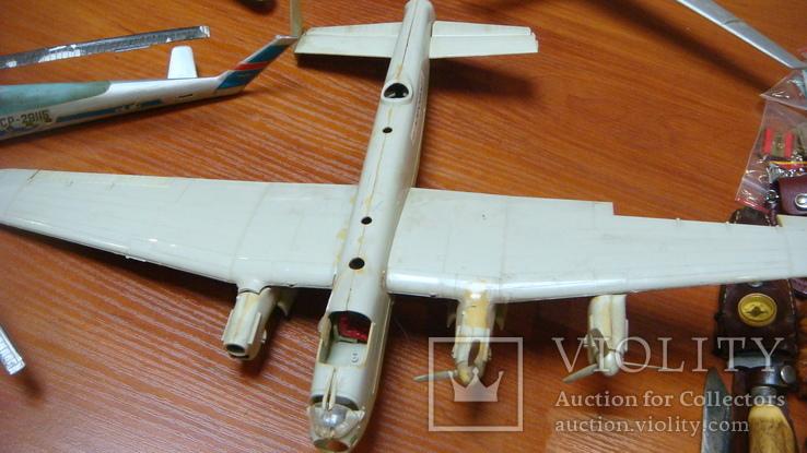 Самолеты СССР, сборная модель, 8 шт, Ту-144, Як-40, Як-24, фото №11