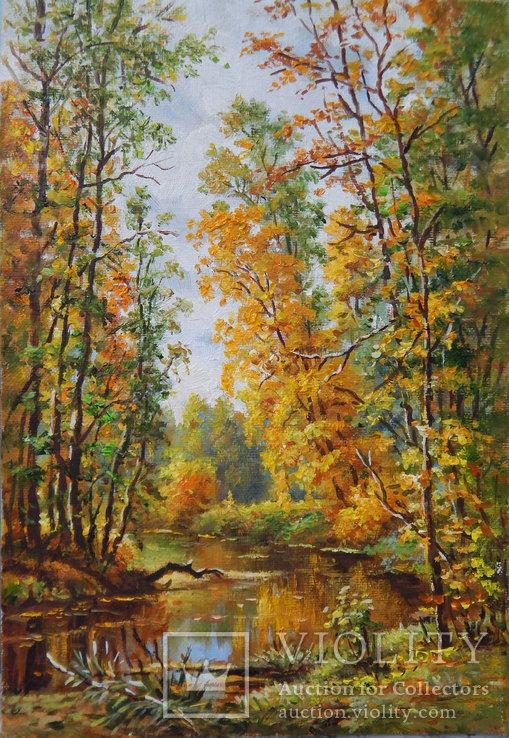 ''Осенний мотив'', 30x20см, 2019