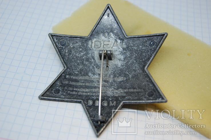 Знак Sheriff Texas. Шериф Звезда. США. Большой.копия, фото №5