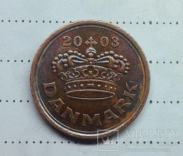 Дания 25 эре 2003, фото №2