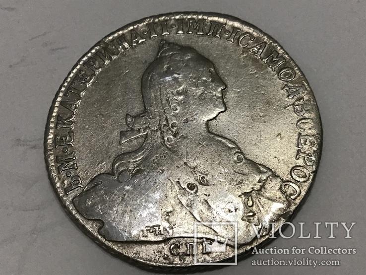 Рубль 1774 г. Серебро
