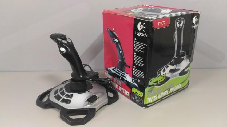 Проводной джойстик Logitech Extreme 3D Pro PC Black/Silver, фото №3