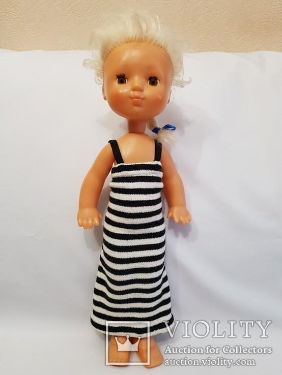 Кукла СССР клеймо ДЗИ 44 см. на резинках, фото №5