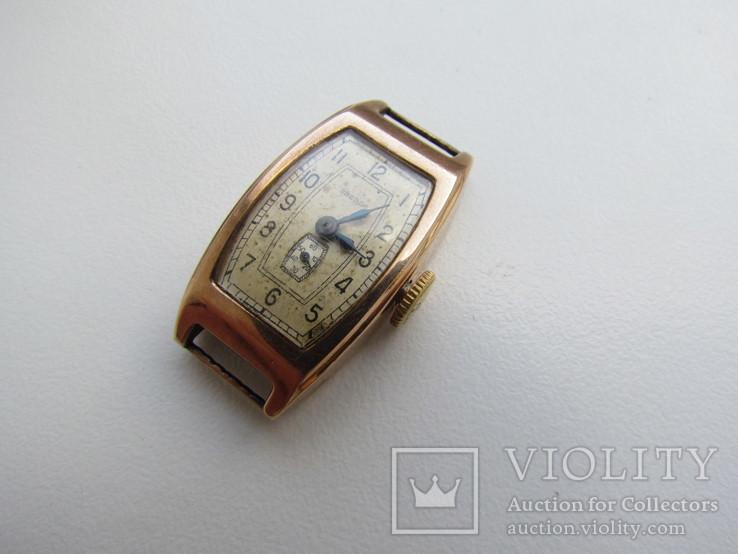 Часы Звезда золото 583 пр. ( лом ), фото №3