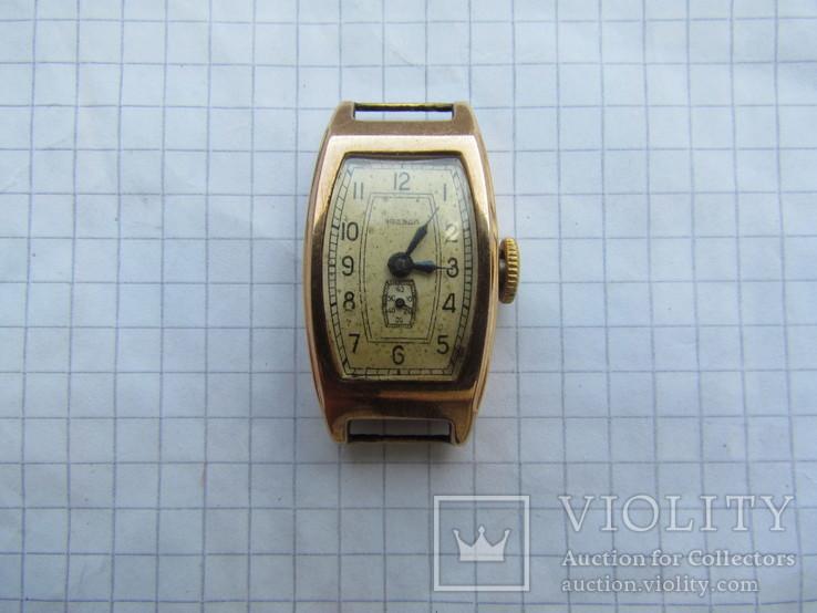 Часы Звезда золото 583 пр. ( лом ), фото №7