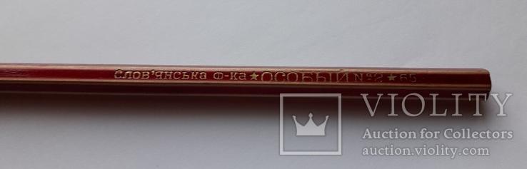 """Карандаш """"особый №2"""" 1965 год.ссср, фото №4"""