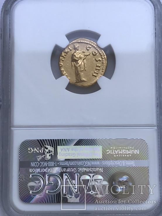 Ауреус 138-161 гг. н.э. Антонин Пий, фото №5
