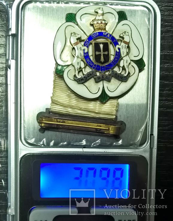 Награда масонов STEWARD. Серебро. RMIG 1932 г., фото №8