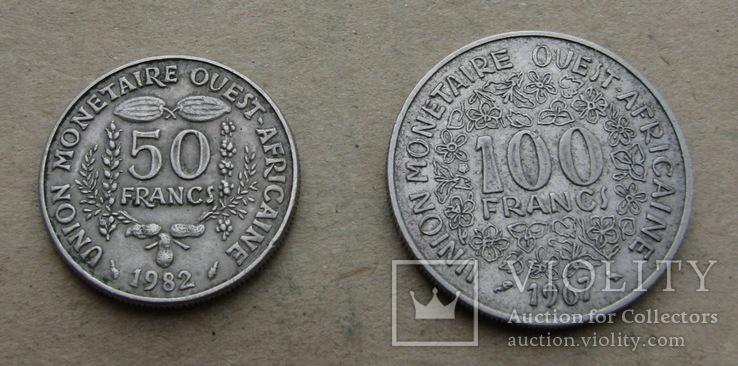 Цар (комплект) 50 и 100 франков