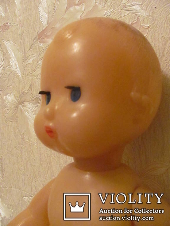 Кукла пупс, мальчик, рельефные волосы, фото №3