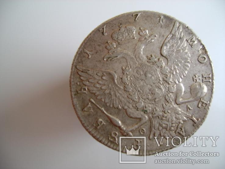 Рубль 1774 год. Екатерины 2