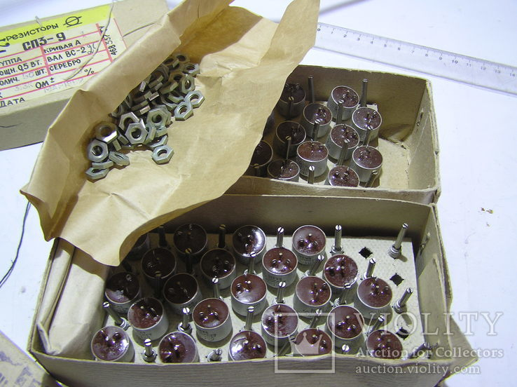 Резисторы переменные СП 3-9. 1 кОм-35 шт.; 6,8 кОм-47 шт., фото №3