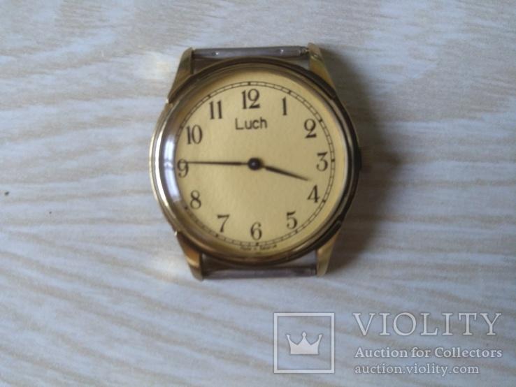 Часы мужские,,Луч,, механические. В желтом металле.Не позолота.