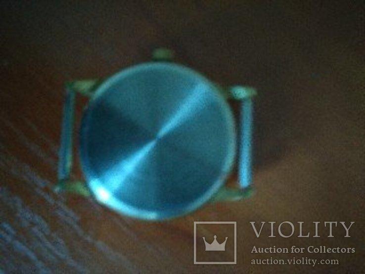 Часы мужские,,Луч,, механические. В желтом металле.Не позолота., фото №4