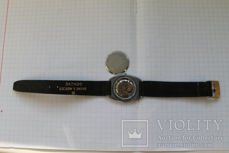 Часы swiss EMFIN-ремешок кожа, фото №5