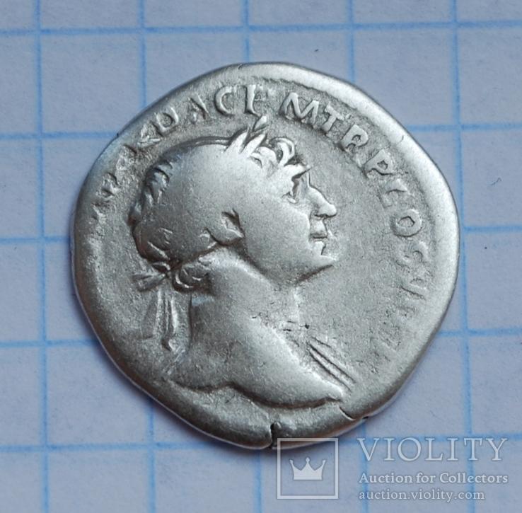Денарий Траяна.