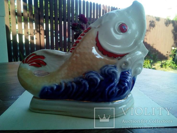 Фарфоровая рыбка. Коростень., фото №2
