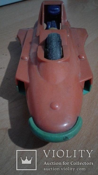 Инерционный гоночный автомобиль СССР., фото №4