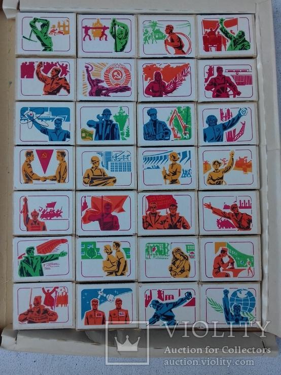 Коллекционные спички 28 штук, фото №3
