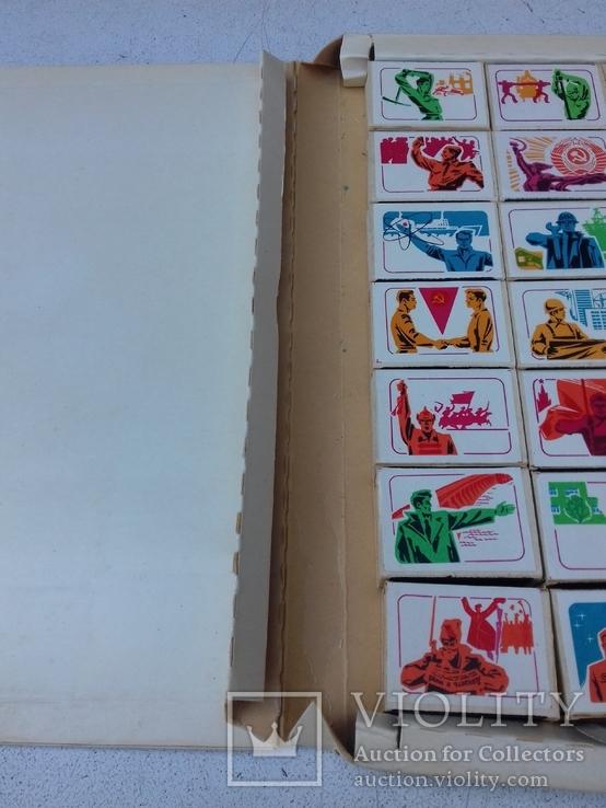 Коллекционные спички 28 штук, фото №4