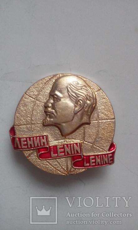 Значок В.И Ленин, фото №2