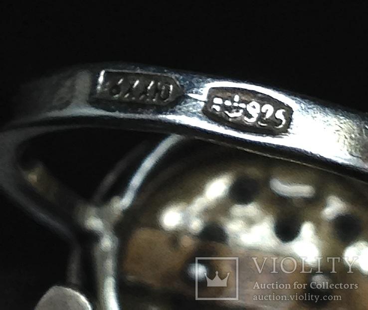 Кольцо и серьги,  позолота, фото №5