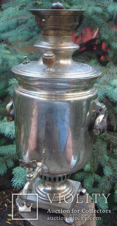 Самовар Братья Поповы 4 литра, фото №2