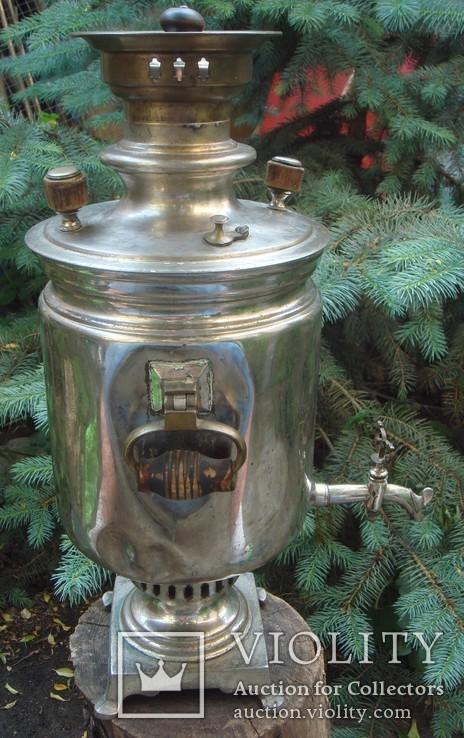 Самовар Братья Поповы 4 литра, фото №3